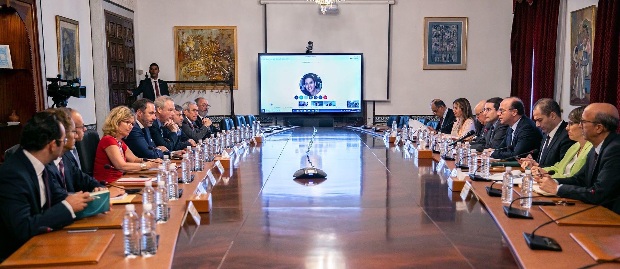 إجتماع رفيع المستوى بين الحكومة التونسية والشركاء الماليين والاقتصاديين في الخارج