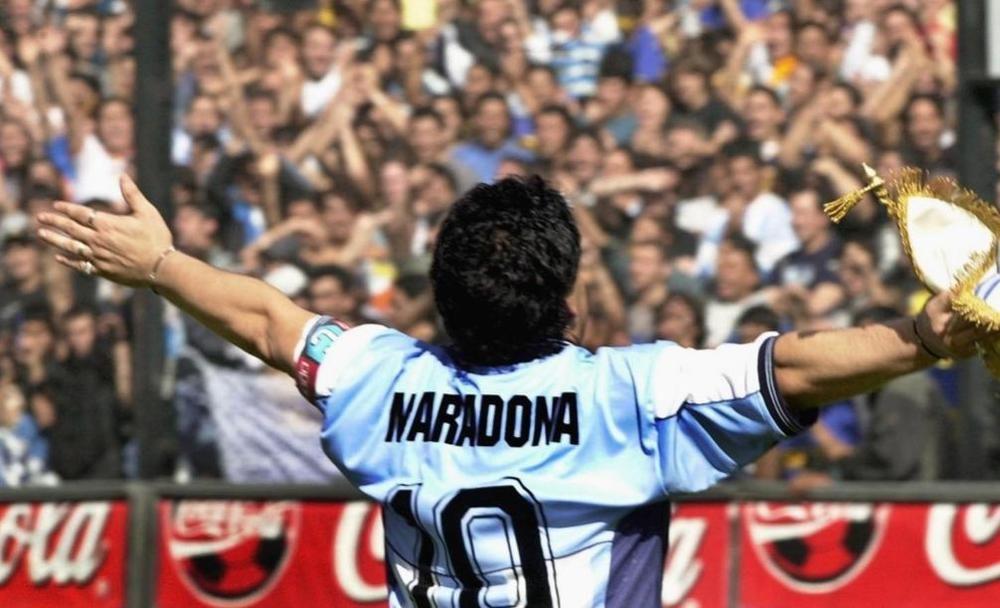 مارادونا: يد الله في ذمة الله